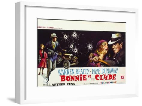 Bonnie and Clyde, (AKA Bonnie Et Clyde), 1967--Framed Art Print