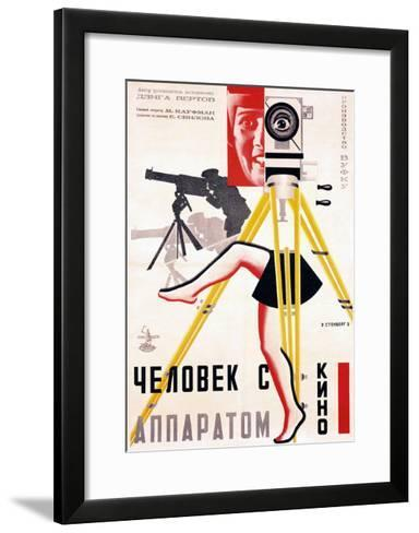 The Man with a Movie Camera, 1929--Framed Art Print