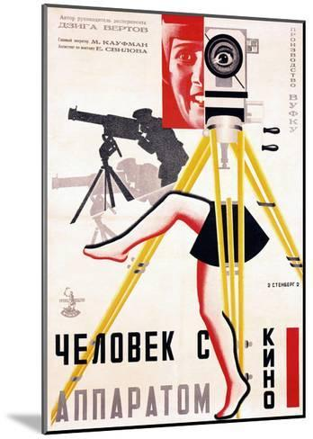 The Man with a Movie Camera, 1929--Mounted Giclee Print
