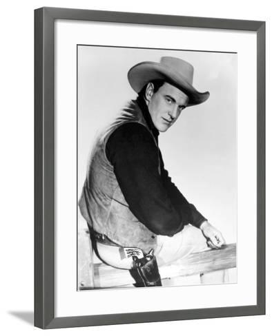 Gunsmoke, James Arness, 1955-1975--Framed Art Print