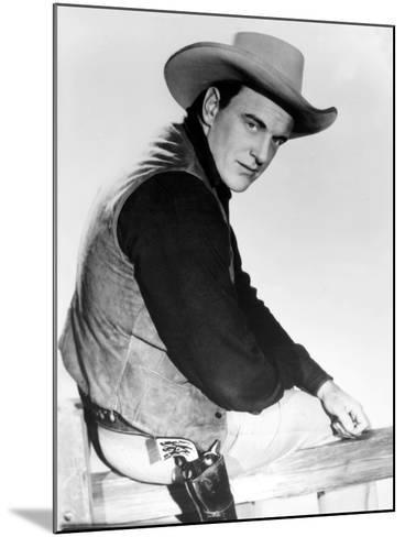 Gunsmoke, James Arness, 1955-1975--Mounted Photo