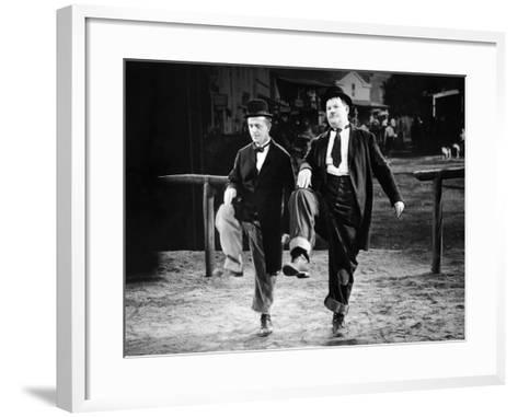 Way Out West, Stan Laurel, Oliver Hardy, 1937--Framed Art Print
