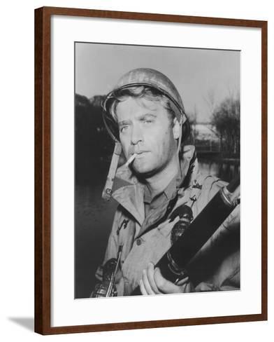 Combat!, Vic Morrow, 1962-1967--Framed Art Print