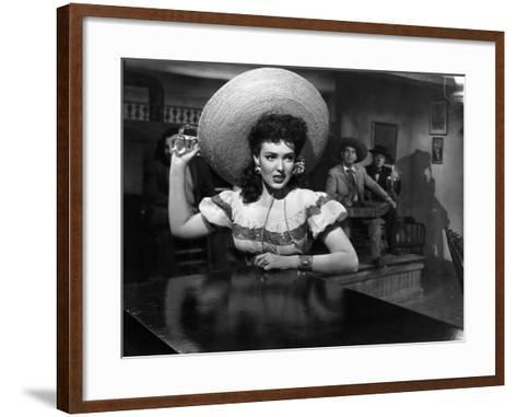 My Darling Clementine, Linda Darnell, 1946--Framed Art Print