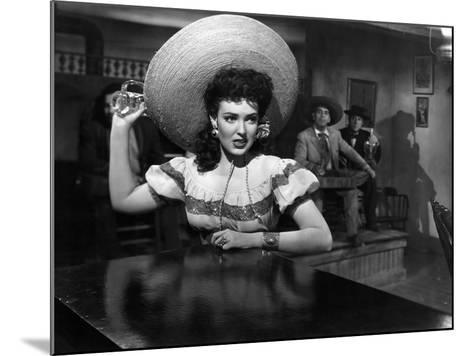 My Darling Clementine, Linda Darnell, 1946--Mounted Photo
