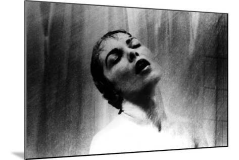 Psycho, Janet Leigh, Shower Scene, 1960--Mounted Photo