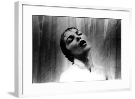 Psycho, Janet Leigh, Shower Scene, 1960--Framed Art Print