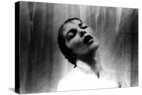 Psycho, Janet Leigh, Shower Scene, 1960--Stretched Canvas Print