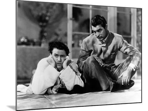 The Philadelphia Story, James Stewart, Cary Grant, 1940--Mounted Photo