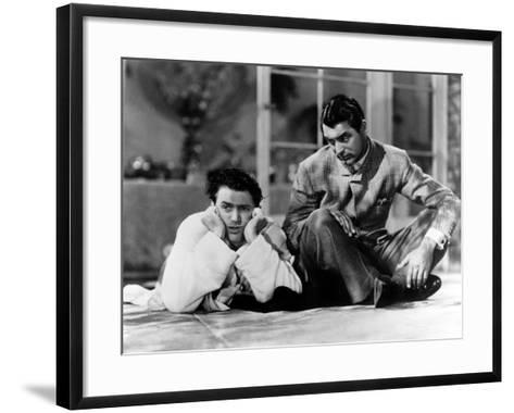 The Philadelphia Story, James Stewart, Cary Grant, 1940--Framed Art Print