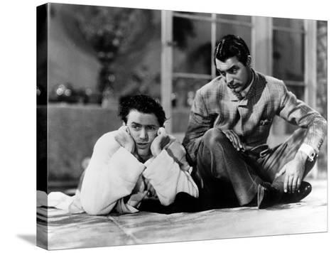 The Philadelphia Story, James Stewart, Cary Grant, 1940--Stretched Canvas Print