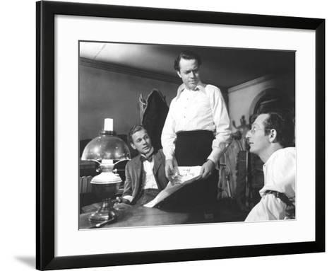 Citizen Kane, Joseph Cotten, Orson Welles, Everett Sloane, 1941--Framed Art Print
