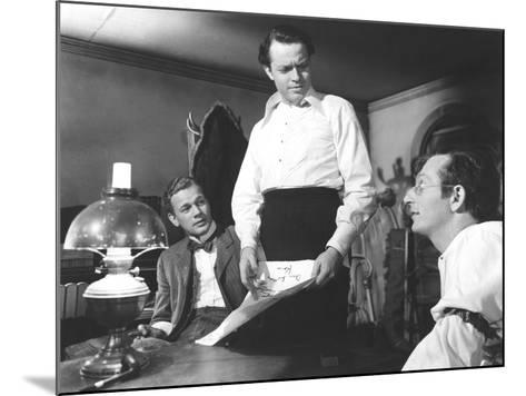 Citizen Kane, Joseph Cotten, Orson Welles, Everett Sloane, 1941--Mounted Photo