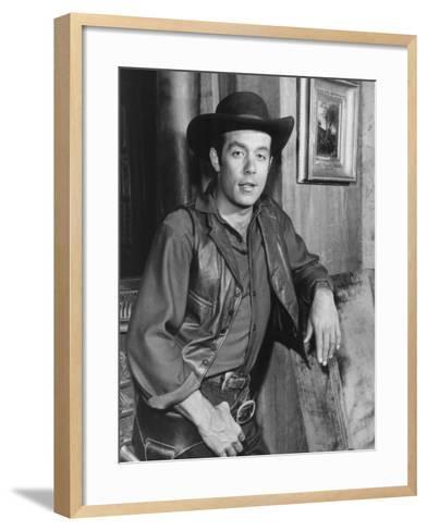 Bonanza, Pernell Roberts, 1959-1973--Framed Art Print
