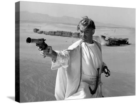 Lawrence of Arabia, Peter O'Toole, 1962--Stretched Canvas Print