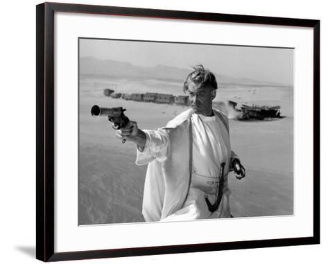 Lawrence of Arabia, Peter O'Toole, 1962--Framed Art Print