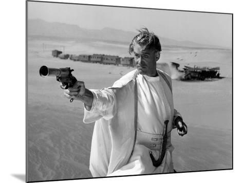 Lawrence of Arabia, Peter O'Toole, 1962--Mounted Photo