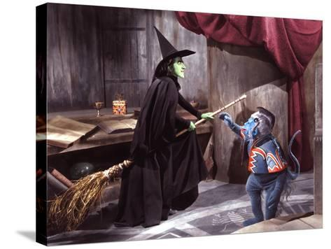 The Wizard of Oz, Margaret Hamilton, 1939--Stretched Canvas Print