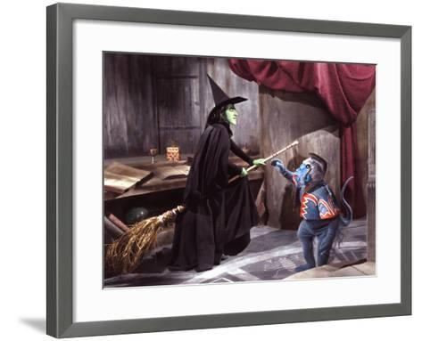 The Wizard of Oz, Margaret Hamilton, 1939--Framed Art Print