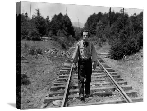 The General, Buster Keaton, 1926--Stretched Canvas Print