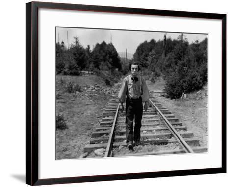The General, Buster Keaton, 1926--Framed Art Print