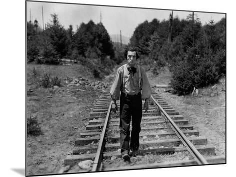 The General, Buster Keaton, 1926--Mounted Photo