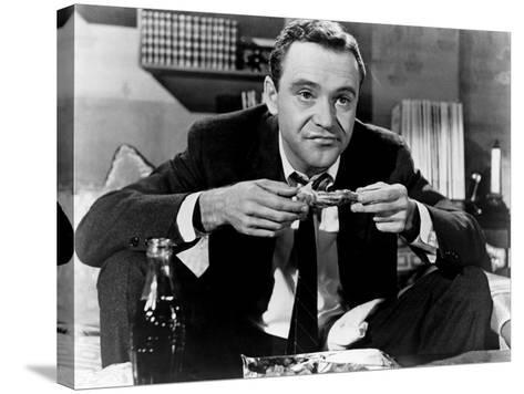 The Apartment, Jack Lemmon, 1960--Stretched Canvas Print