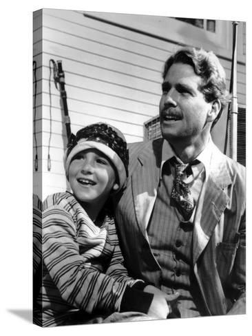 Paper Moon, Tatum O'Neal, Ryan O'Neal, 1973--Stretched Canvas Print