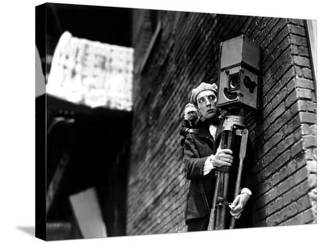 The Cameraman, Buster Keaton, 1928--Stretched Canvas Print