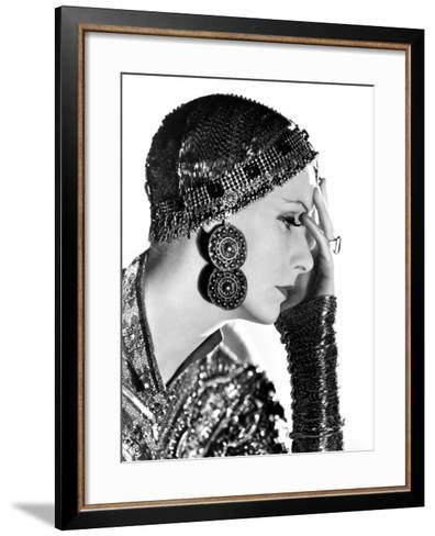 Mata Hari, Greta Garbo, 1931--Framed Art Print