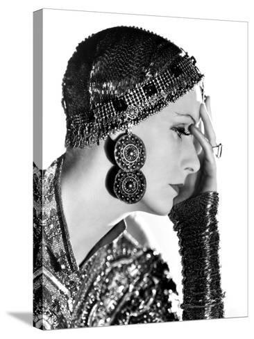 Mata Hari, Greta Garbo, 1931--Stretched Canvas Print