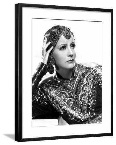 Mata Hari, Greta Garbo, 1931--Framed Art Print