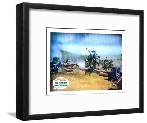 The Charge of the Light Brigade, Errol Flynn, 1936--Framed Art Print