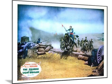 The Charge of the Light Brigade, Errol Flynn, 1936--Mounted Photo