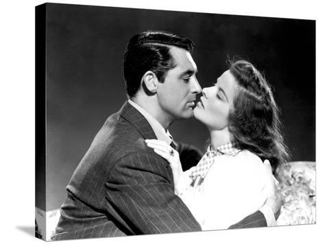 The Philadelphia Story, Cary Grant, Katharine Hepburn, 1940--Stretched Canvas Print