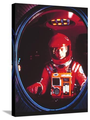 2001:A Space Odyssey, Keir Dullea, 1968--Stretched Canvas Print
