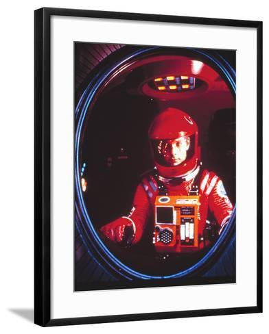 2001:A Space Odyssey, Keir Dullea, 1968--Framed Art Print