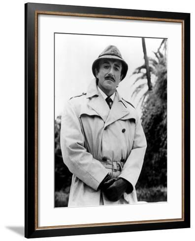 Peter Sellers in Return of the Pink Panther, 1975--Framed Art Print