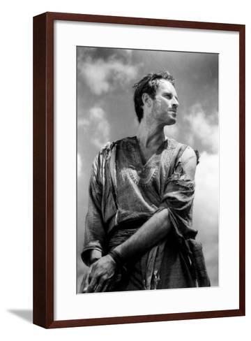 Ben-Hur, Charlton Heston, 1959--Framed Art Print