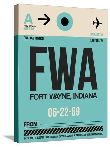 FWA Fort Wayne Luggage Tag I-NaxArt-Stretched Canvas Print
