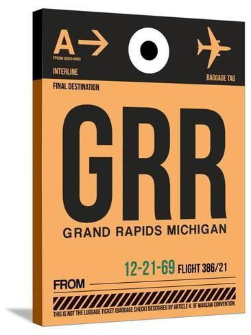 GRR Grand Rapids Luggage Tag I-NaxArt-Stretched Canvas Print