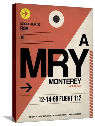 MRY Monterey Luggage Tag I-NaxArt-Stretched Canvas Print