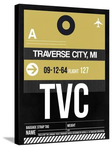 TVC Traverse City Luggage Tag II-NaxArt-Stretched Canvas Print