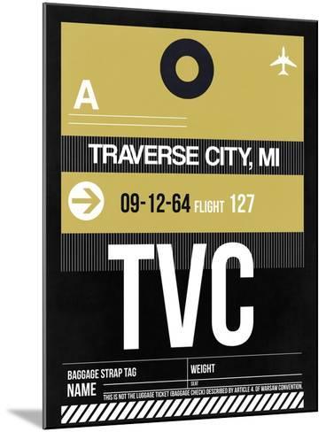 TVC Traverse City Luggage Tag II-NaxArt-Mounted Art Print