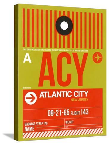 ACY Atlantic City Luggage Tag I-NaxArt-Stretched Canvas Print