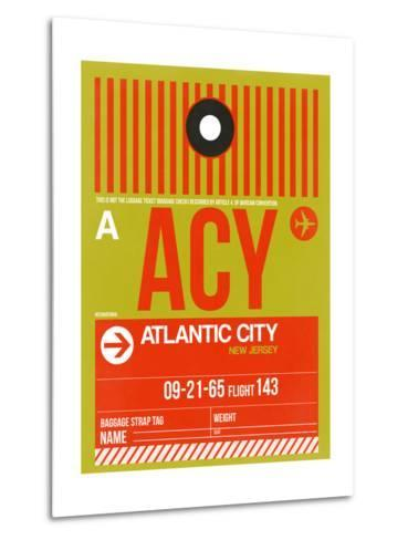 ACY Atlantic City Luggage Tag I-NaxArt-Metal Print