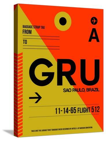 GRU Sao Paulo Luggage Tag II-NaxArt-Stretched Canvas Print