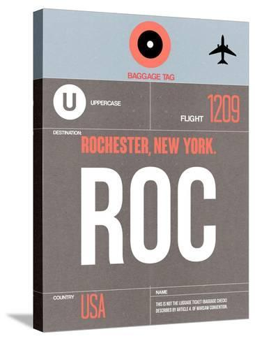 ROC Rochester Luggage Tag II-NaxArt-Stretched Canvas Print