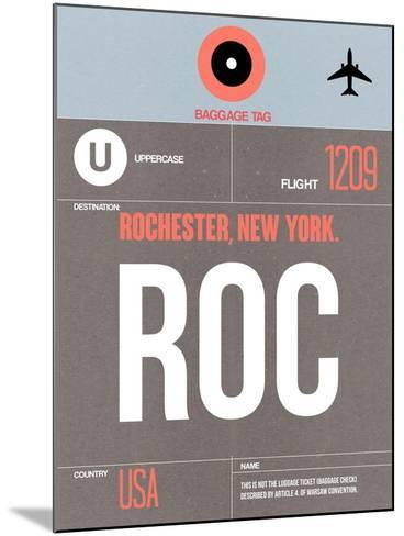 ROC Rochester Luggage Tag II-NaxArt-Mounted Art Print
