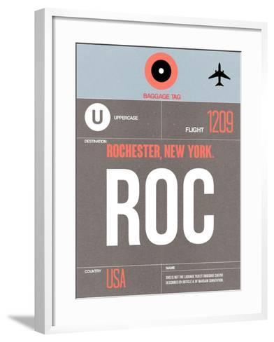 ROC Rochester Luggage Tag II-NaxArt-Framed Art Print